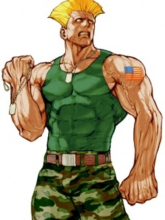 Guile Street Fighter Mobile Wallpaper