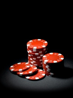 Poker Chips Mobile Wallpaper