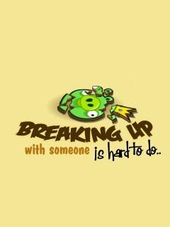Break Up Mobile Wallpaper