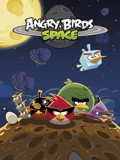 Angry Birds Space Mobile Wallpaper
