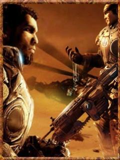 Gear Of War 2 Mobile Wallpaper
