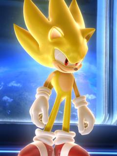 Super Sonic Mobile Wallpaper