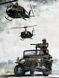 Battlefield Army Company Mobile Wallpaper