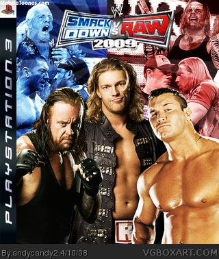 WWE Smackdown VS Raw 2009 Mobile Wallpaper