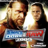 WWE Smackdown Vs Raw 2009 Wallpaper Mobile Wallpaper