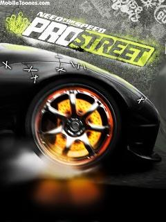 NFS PROSTREET Mobile Wallpaper