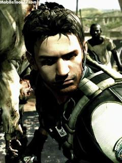 RESIDENT EVIL 5 Mobile Wallpaper