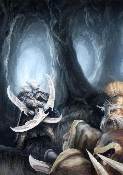 Demon Hunter! Mobile Wallpaper