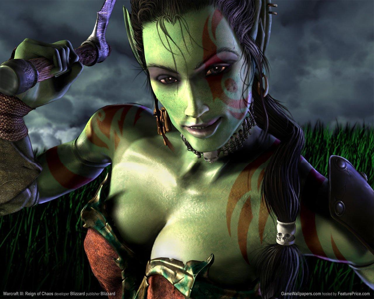 Female Orc Mobile Wallpaper