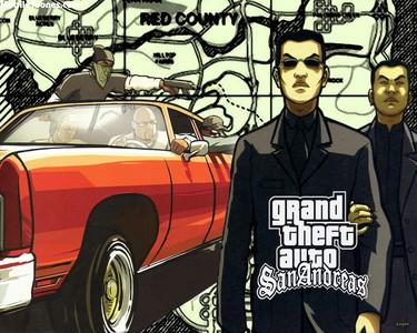 Grand Theft Auto Sand Adreas Wallpaper Mobile Wallpaper