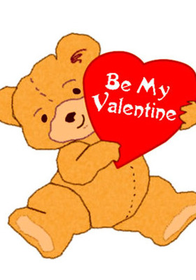 Bear Valentine Mobile Wallpaper