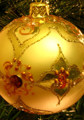 Christmas Ball IPhone Wallpaper Mobile Wallpaper