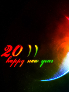 2011 New Year Mobile Wallpaper