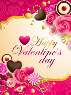Download Happy Valentine Day By Vkushwaha Mobile Wallpaper Mobile