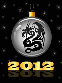 New Year Dragon Mobile Wallpaper