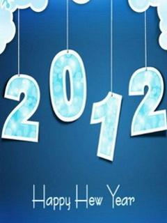 2012 Light Blue Mobile Wallpaper