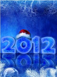 2012 Blue Mobile Wallpaper