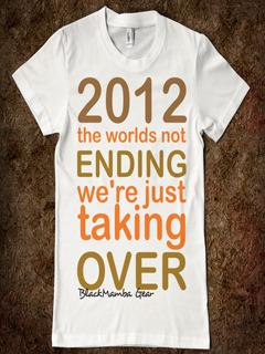 2012 World End Mobile Wallpaper