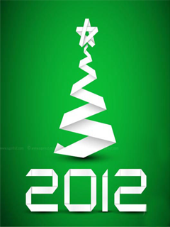 2012 Green Mobile Wallpaper