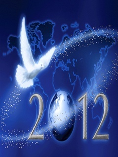 2012 Peace Mobile Wallpaper