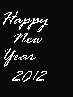 Happy New Year Mobile Wallpaper