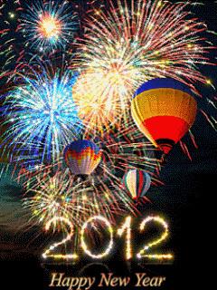 2012 Fireworks Mobile Wallpaper