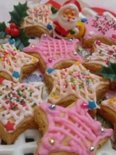 Christmas Cookies Mobile Wallpaper