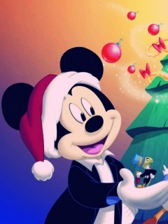 Disney Christmas Mobile Wallpaper