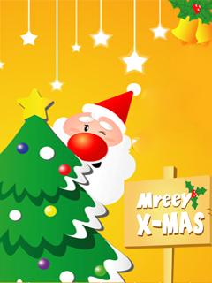Merry X-Mas Mobile Wallpaper
