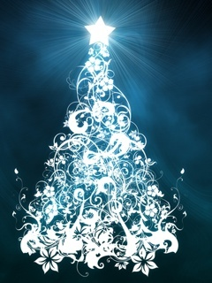 Christmas Tree Star Mobile Wallpaper