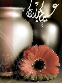 Floral Eid Mubarak Wallpaper Mobile Wallpaper