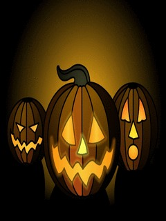 Halloween Pumpkins Mobile Wallpaper