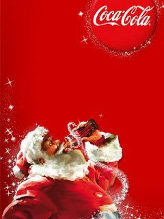 Christmas Santa Drink Mobile Wallpaper