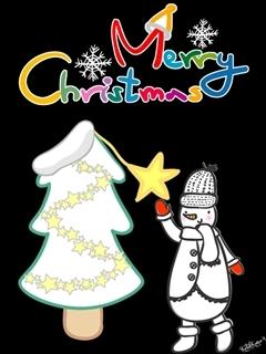 Merry Christmas All Mobile Wallpaper