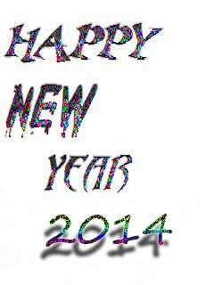 New Year 2014 Mobile Wallpaper