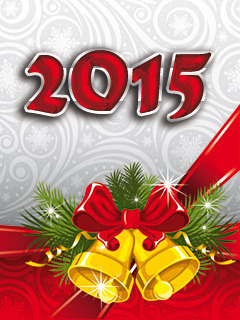 2015 Christmas New Year Mobile Wallpaper