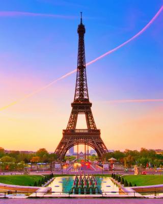 Paris-Eiffel Tower Mobile Wallpaper