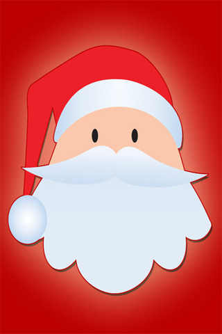 Santa Claus Cute IPhone Wallpaper Mobile Wallpaper