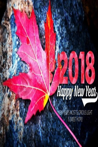 Happy New Year 2018 Mobile Wallpaper