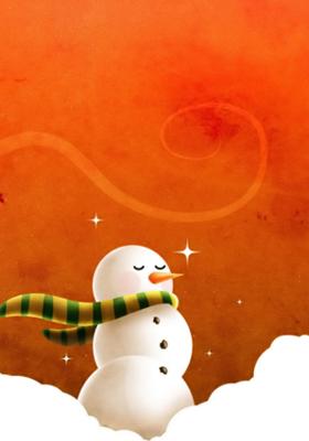 Ice Cartoon Mobile Wallpaper