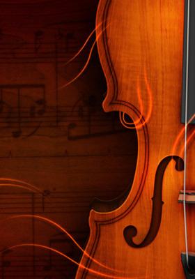 Violin Mobile Wallpaper