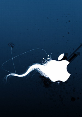 Like Apple Mobile Wallpaper
