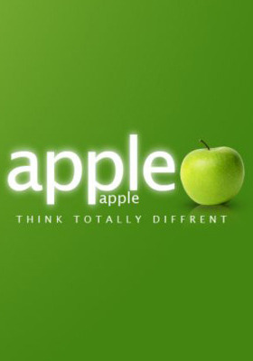 Apple Is Green Mobile Wallpaper