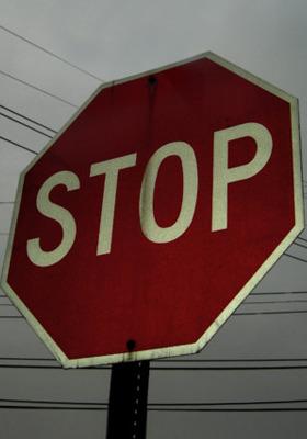 Stop Mobile Wallpaper