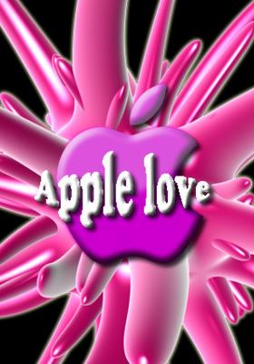 Apple Love Mobile Wallpaper