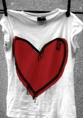 Love Shirt Mobile Wallpaper