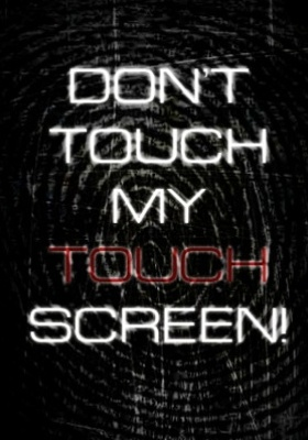 Dont Not Touch Mobile Wallpaper
