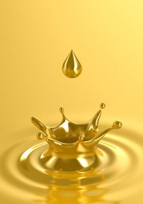 Liquid Gold Mobile Wallpaper