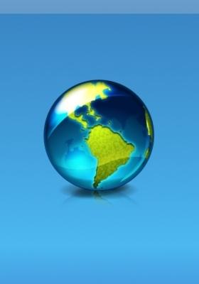 Blue World Mobile Wallpaper