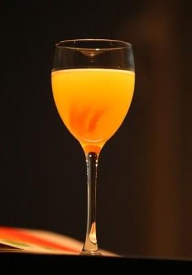Orange Juice Mobile Wallpaper